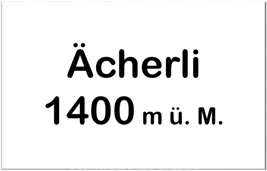Ächerli