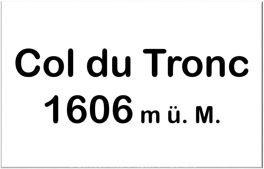 Col du Tronc